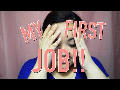 My First Job | RECEPTIONIST