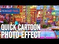 Cartoon Effect with Photoshop Filters (PSD Box)