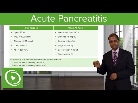 Acute Pancreatitis: Etiology, Signs and Symptoms & Treatment – Pathology | Lecturio