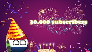 30.000 subscribers special + Giveaway