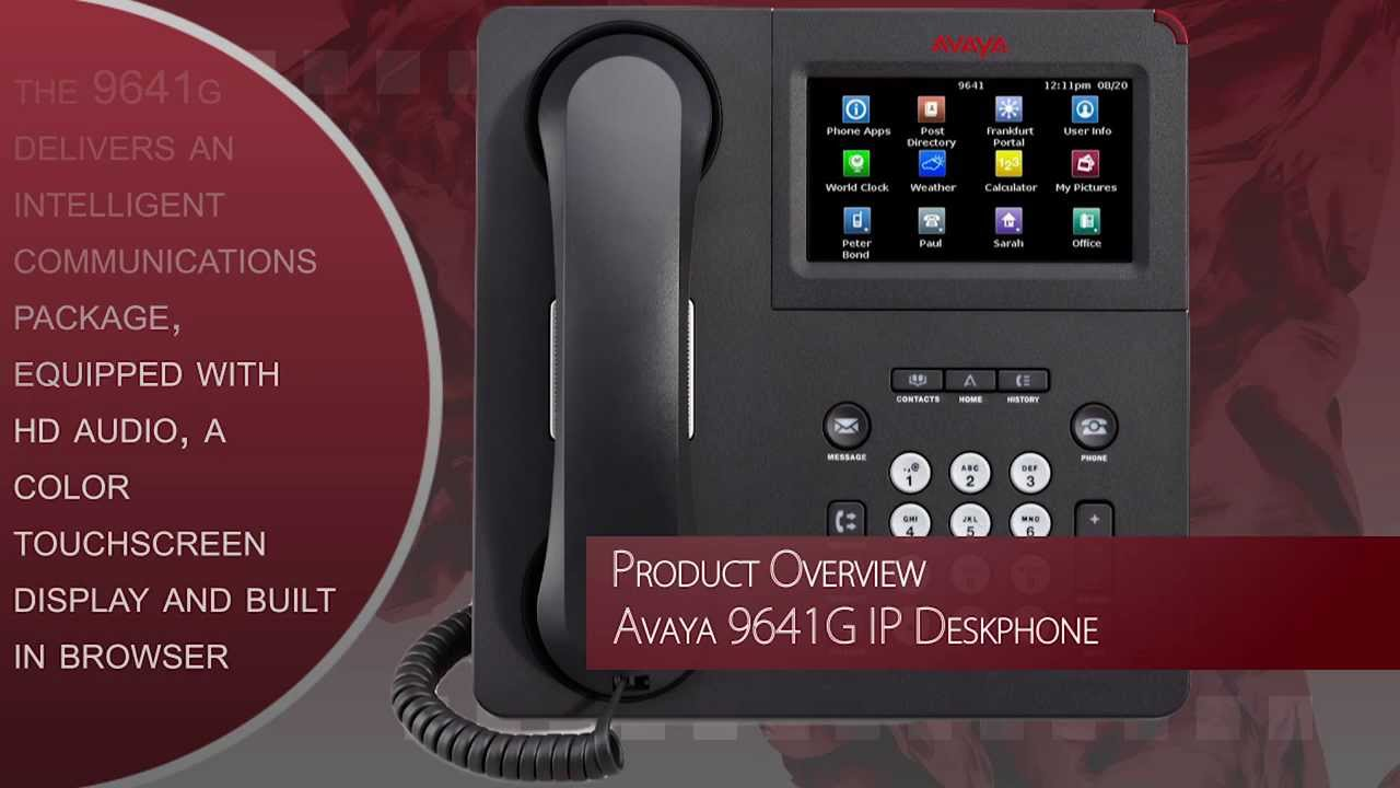 Drivers Update: Avaya 9641G IP Phone