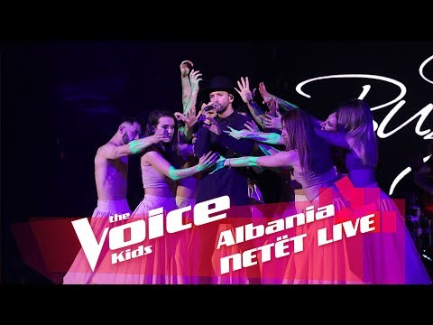 Eugent Bushpepa - Mall | Netët Live | Nata 2 | The Voice Kid