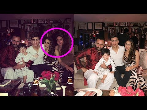 SHOCKING : Kareena Kapoor Khan celebrates Christmas with Taimur and her step kids Sara and Ibrahim