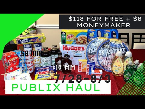 Publix Couponing 7/28-8/3   7/29-8/4 Everything For free + $8 MONEYMAKER   EASY DEALS