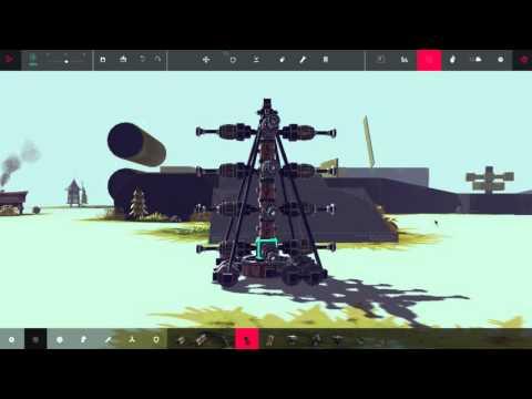 Постройки и механизмы в игре Besiege часть 4