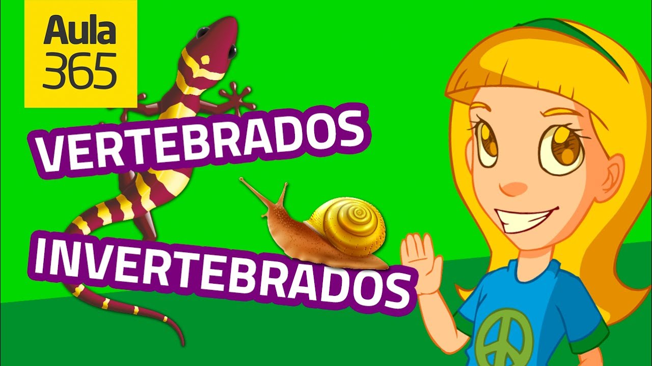 Animales Vertebrados E Invertebrados Parte 1 Videos Educativos Para Niños