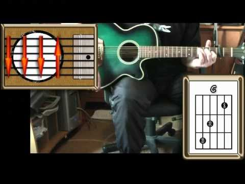 Valerie - The Zutons - Acoustic Guitar Lesson (easy)