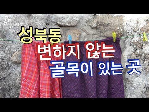 [다큐] 골목,이야기①…시간이 멈춘 곳, 성북동