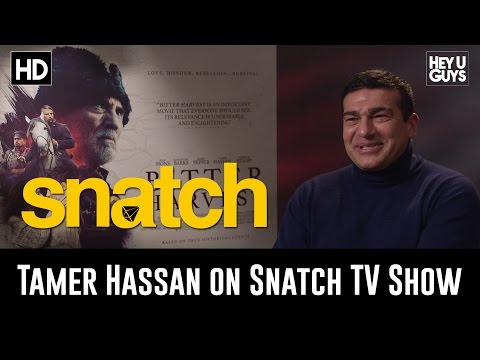 Tamer Hassan on the Snatch TV Series