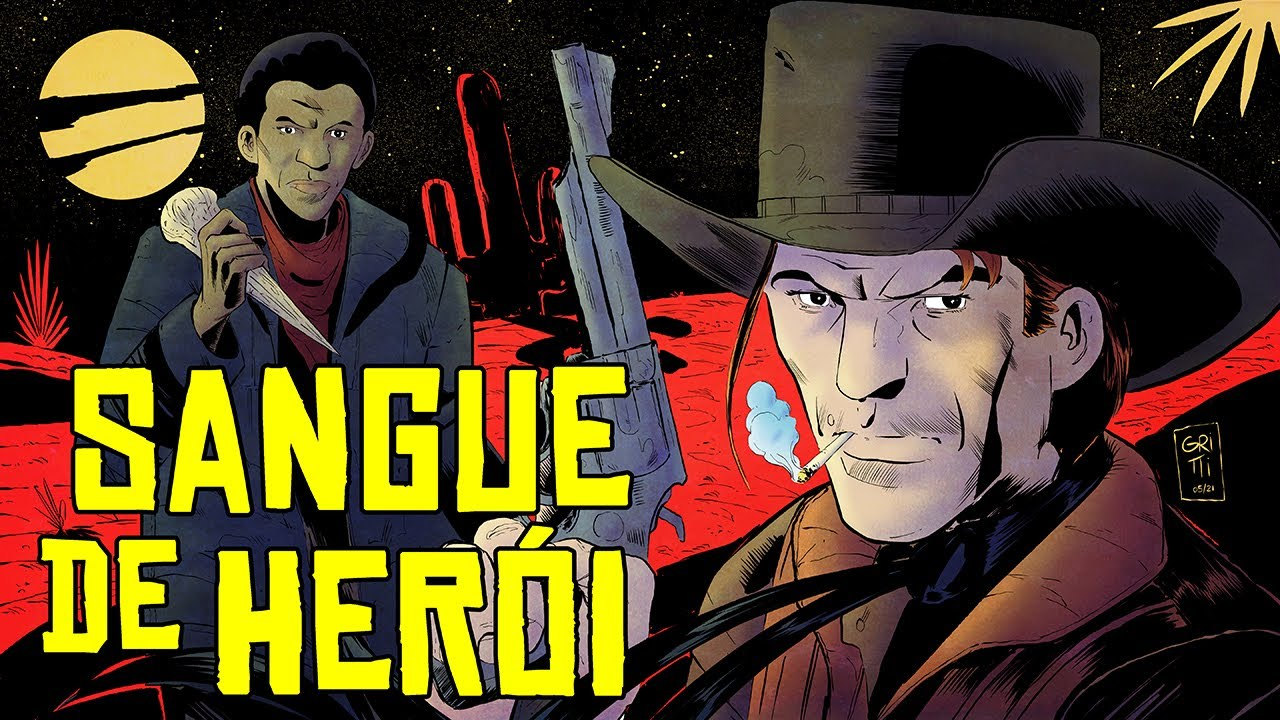 Sangue de Herói - Horror no Velho Oeste - Rusty Cage ep.01 - Foca na História