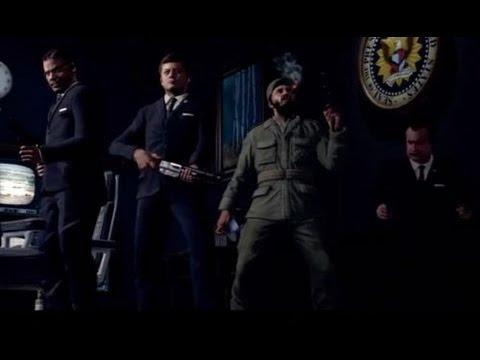 Call Of Duty Black Ops Zombie Five Co-op прохождение Часть 1
