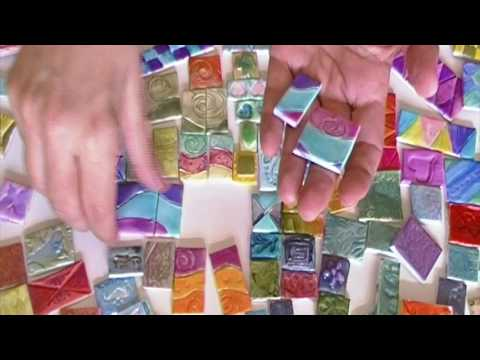 Polymer Clay Tiles using different mediums