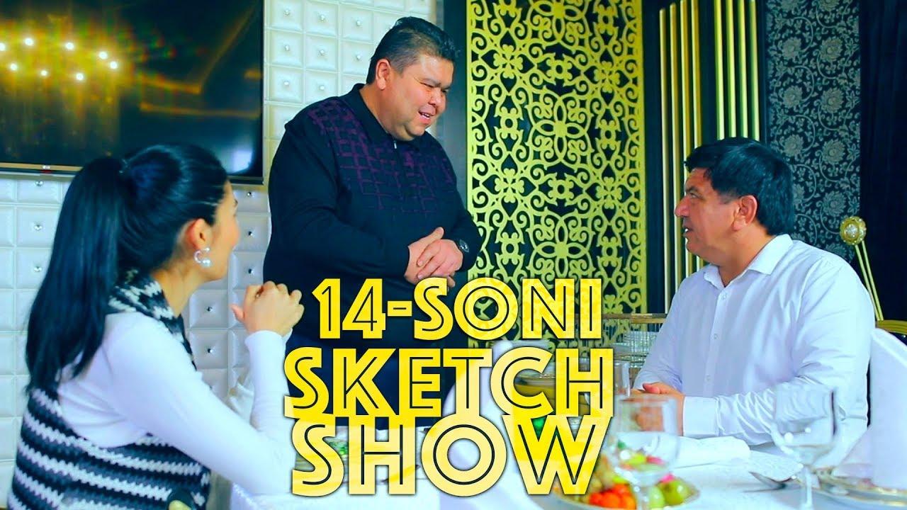 Sketch SHOW 14-soni (Mirzabek Xolmedov, Zokir Ochildiyev, Shukurullo Isroilov, Abror Baxtyarovich)