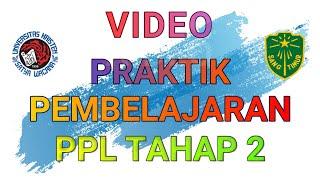 TUGAS PPG : VIDEO PRAKTIK PEMBELAJARAN RPP 2 DI TUGAS PPL - UKSW (CHITRA SINTARANI)
