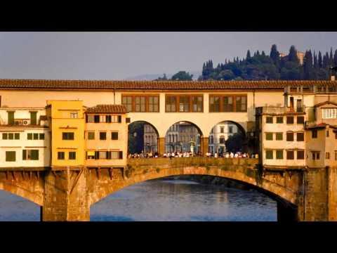 Золотой мост Понте Веккио. Италия