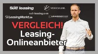 Im Vergleich: Onlineanbieter für Fahrzeugleasing