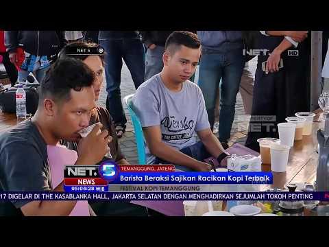 Keseruan Festival Kopi Khas Temanggung - NET5