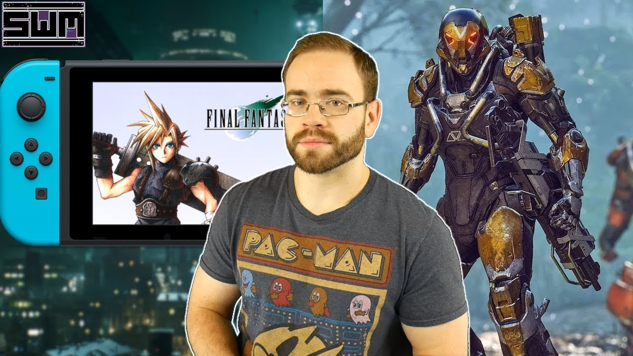 FF7 Coming Soon To Nintendo Switch? EA's Anthem Chart, Epic Store And Your Comments | Saturday