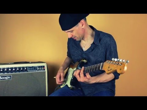Fat Jazz Tone with a Mesa Boogie amp and an old Fender Stratocaster (Take five)