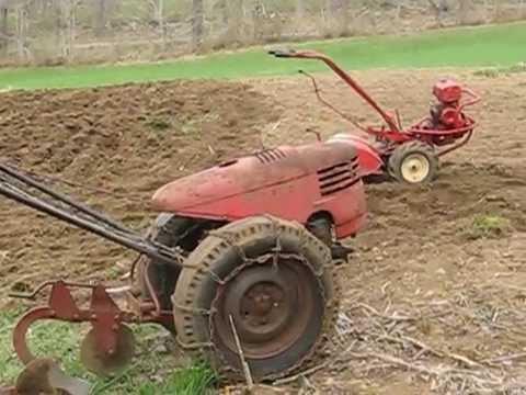 Troy Bilt Tiller And David Bradley Garden Tractor Youtube