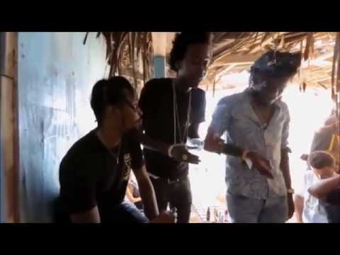 Popcaan, Aidonia & Chi Ching Ching - Free Style (Raw) Video