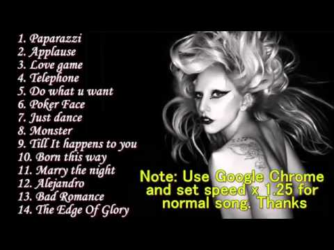 Top 5 best songs of lady gaga