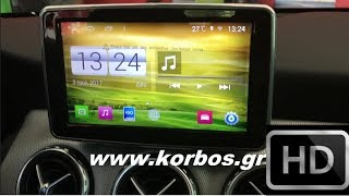 Android Multimedia for Mercedes Gla,A+B Class www.korbos.gr