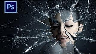 Tutorial 2 Photoshop CS6 - Broken glass effects