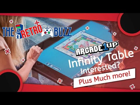 Arcade1Up Infinity Game Table & More -The Retro Buzz Ep.  41 from COOLTOY