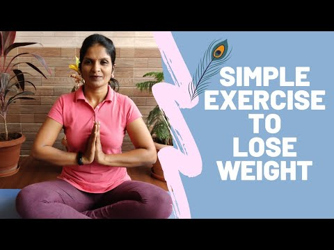 Simple Exercise To Lose Weight | Sai Yoga