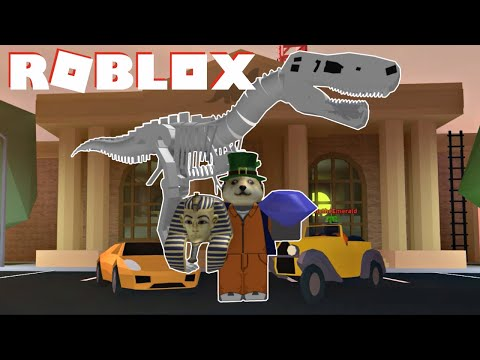 ROBLOX JAILBREAK MUSEUM ROBBERY UPDATE (Plus New Classic Car, Giant Soccer Ball, etc...)