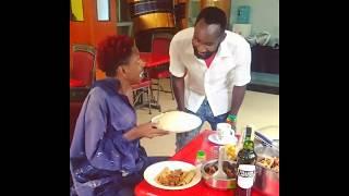 EricOmondi | Vile waluya huorder food  #Jibebe