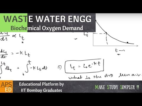 Biochemical Oxygen Demand (BOD) | Waste Water Engineering