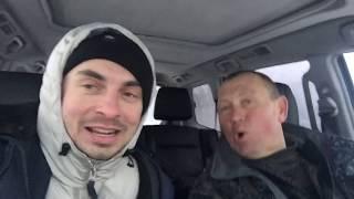 Смішна рибалка взимку, як ставити ятерь, дріфт по снігу, ловимо рибу на озері с. Осикове