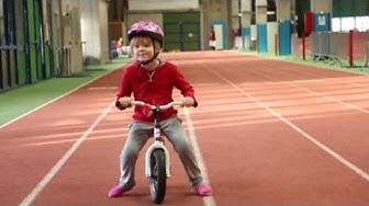 Opeta lapsi pyöräilemään