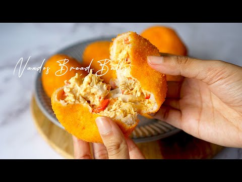 Nando's Chicken Bread Balls ASMR | Ramadan Recipe Idea