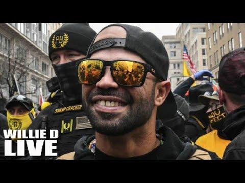 Racist Proud Boys Leader Selling Black Lives Matter T-Shirt 'To Make Ends Meet'