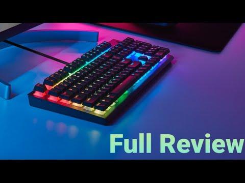Corsair K60 Pro RGB Series Mechanical Keyboard Full Review