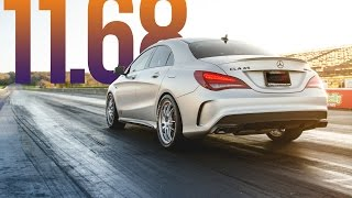 Alpha CLA 45 AMG Takes The Record