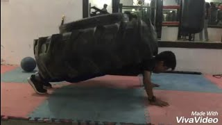 Munny Sharma Hard Intense Calisthenics And Crossfit Workout in Gym Fittest Teenager In India........