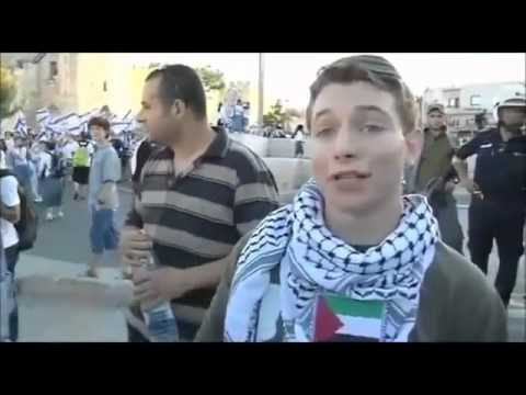 Jewish boy is against Israel and is arrested in Jerusalem