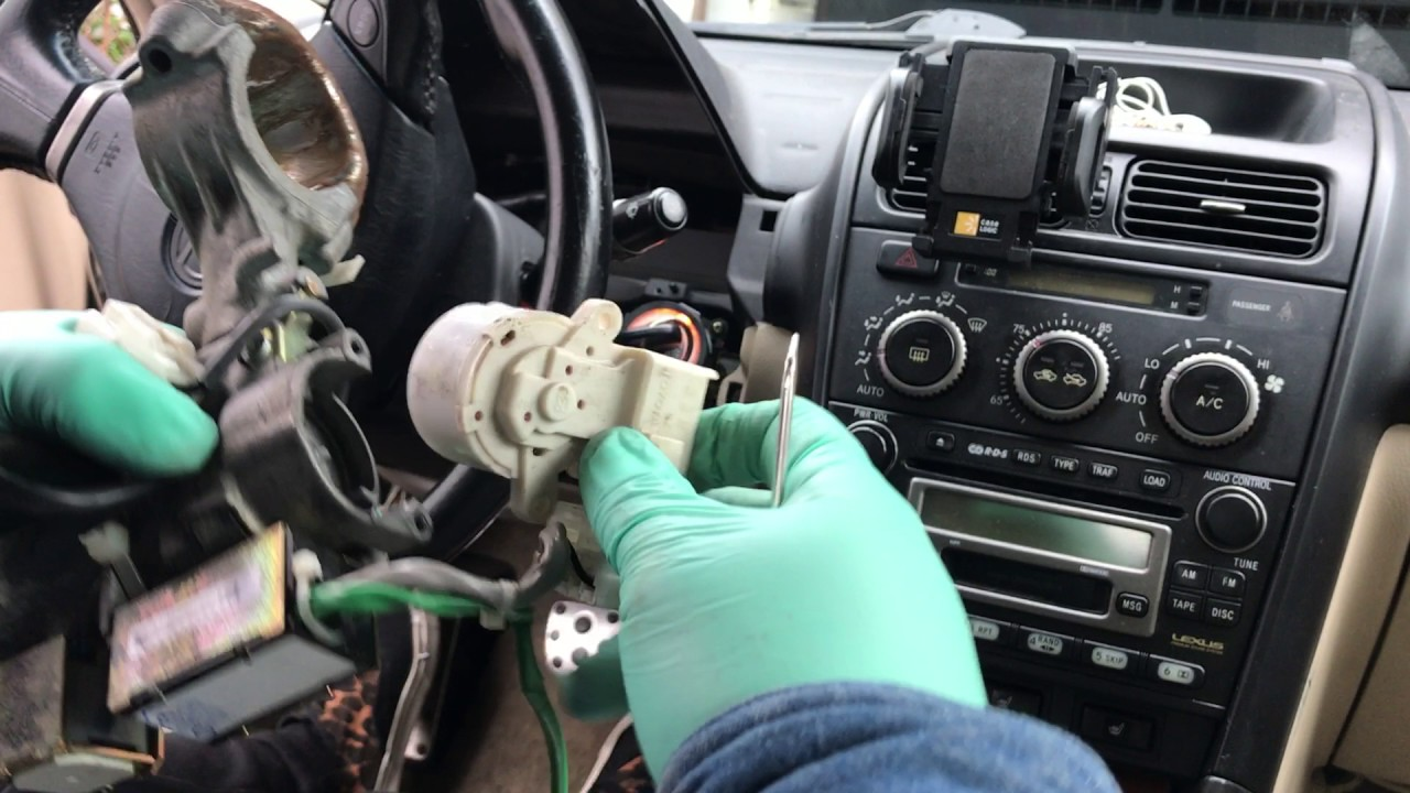IS 300 Lexus  Toyota ignition cylinder IS 300 2001 2002