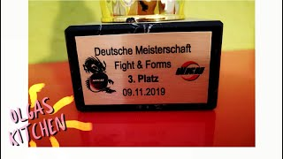 Чемпионат Германии Кикбоксинг 3 Место 09 11 2019 Deutsche Meisterschaft Kickboxen 3 Platz