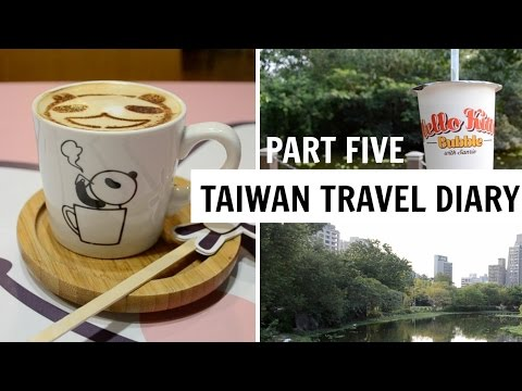 TAIWAN TRAVEL DIARY PART FIVE | Taipei Zoo, Elephant Mountain,  Daan Park