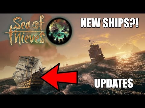 New Ships for Sea of Thieves update news.......  THE WARSHIP?.....