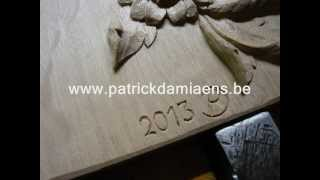 Woodcarving | Carving Some Flowers | Woodcarving Course