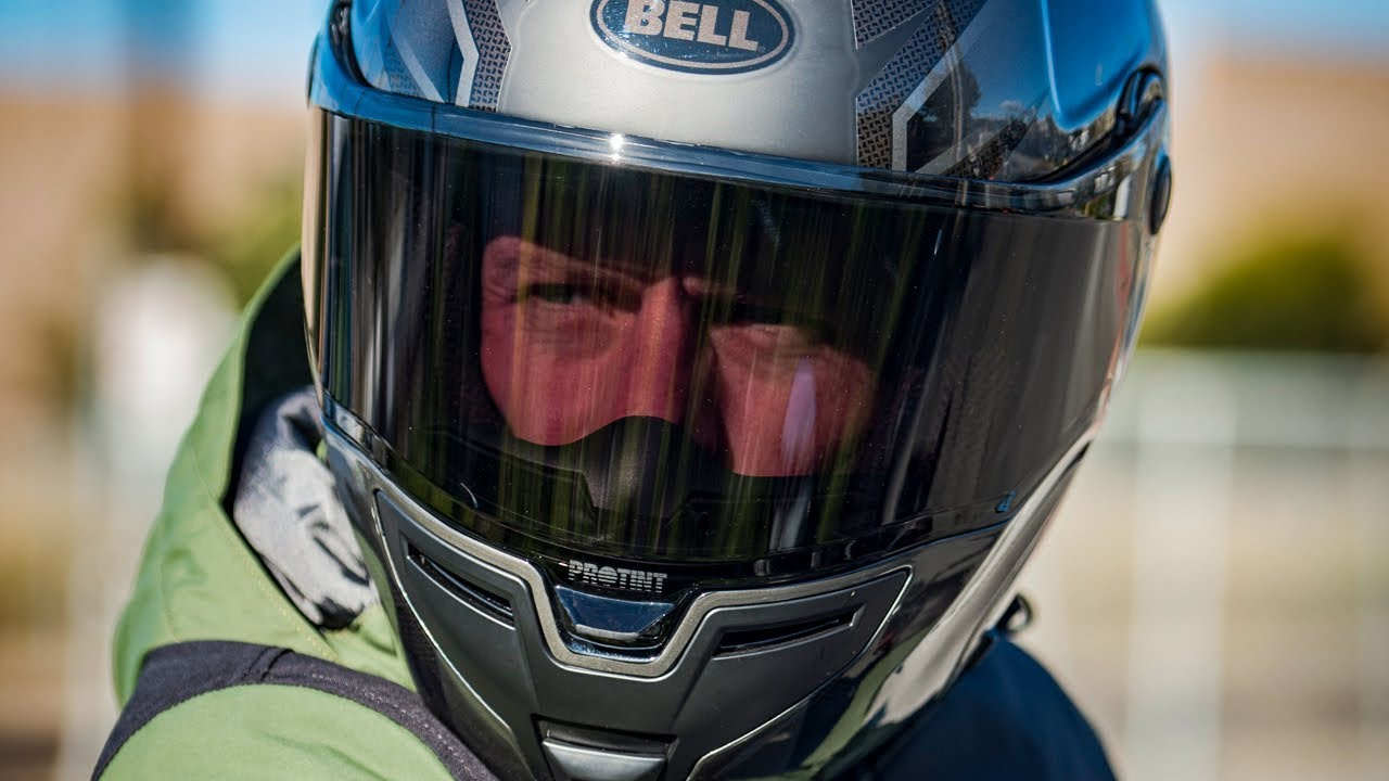 One Size Bell Transitions Photochromic Shield for ClickRelease helmets