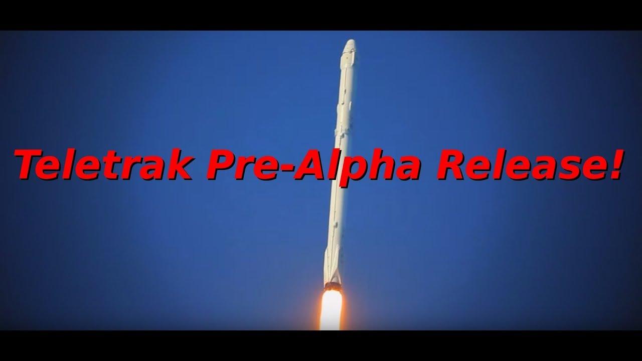 Pre Alpha Release Of Teletrak Software Youtube