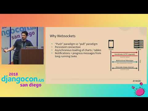 DjangoCon US 2018 - A Python-Driven Web App Framework... by Kendall Chuang and Henry Olson