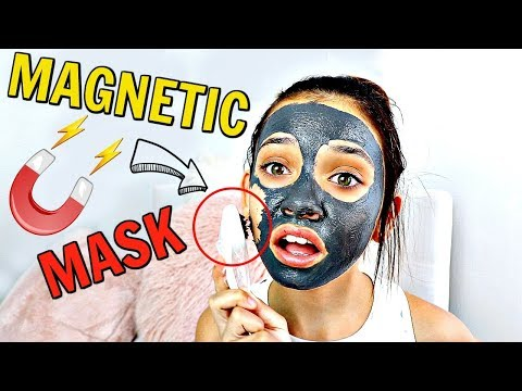 I tried a magnetic face mask for first time *crazy 🤪